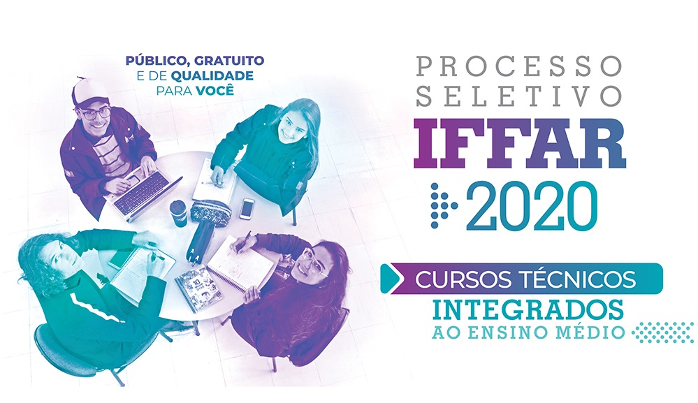 Banner PS Integrado 2020 todos campi cursos