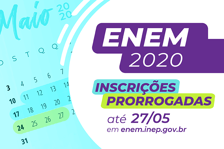 ENEM inscricoes prorrogadas noticia 01